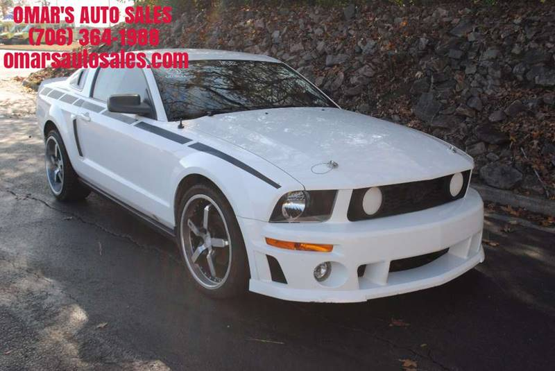 2007 FORD MUSTANG V6 DELUXE 2DR COUPE white clean car with bluetooth manual transmission remote