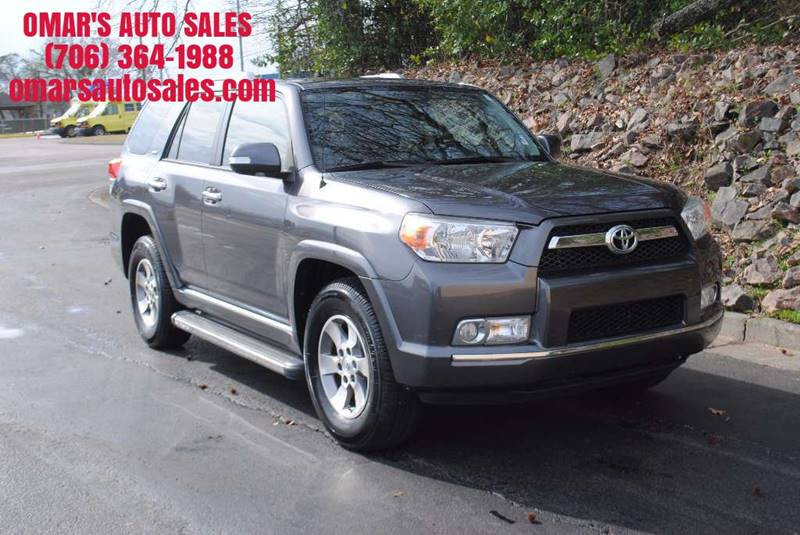 2011 TOYOTA 4RUNNER SR5 4X2 4DR SUV pewter new tires 3 months free siriusxm satellite radio cle