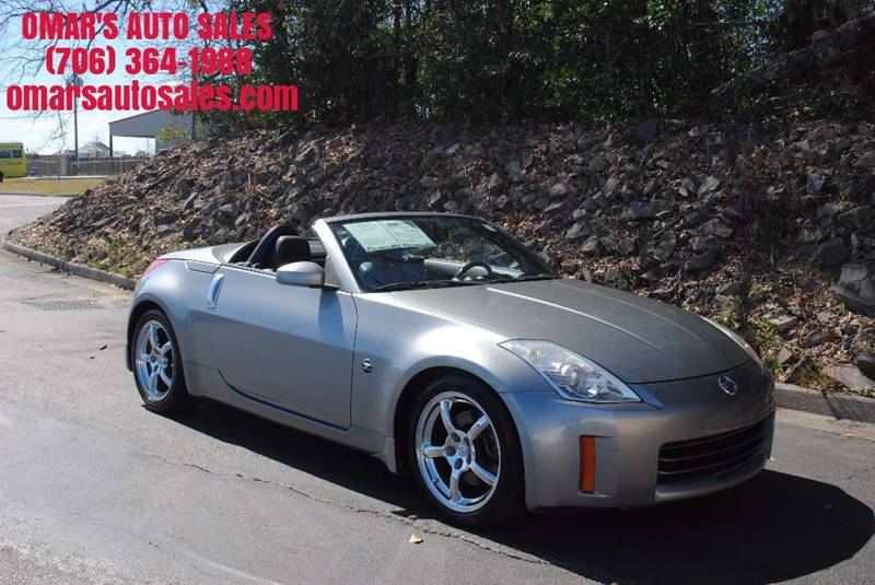 2006 NISSAN 350Z TOURING 2DR CONVERTIBLE 35L V6 champagne no accidents convertible top clean
