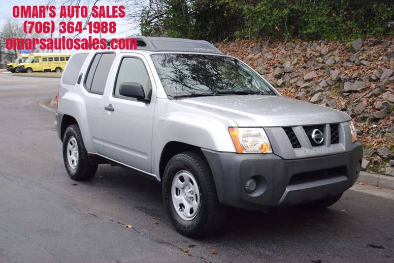 2007 NISSAN XTERRA S 4DR SUV 4L V6 5A silver clean suv with power windows power locks and muc