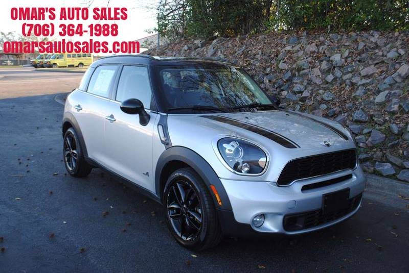 2012 MINI COOPER COUNTRYMAN S ALL4 AWD 4DR CROSSOVER silver no accidents 3 months free siriusxm