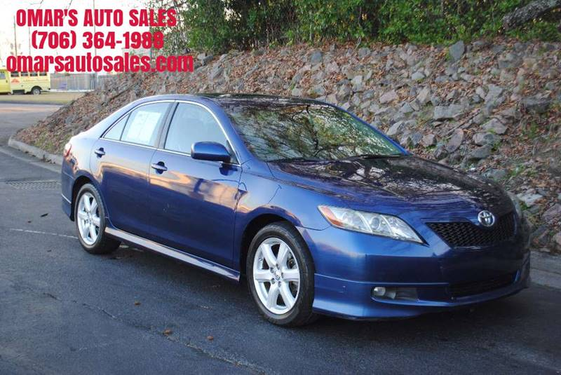 2007 TOYOTA CAMRY CE 4DR SEDAN 24L I4 5A blue no accidents clean car with great tires sunr