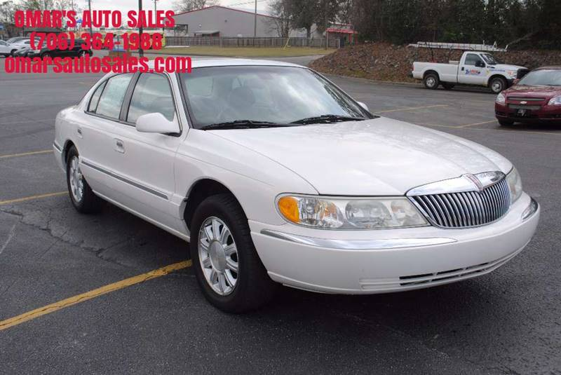 2002 LINCOLN CONTINENTAL BASE 4DR SEDAN white clean car with heated leather seats sunroof power