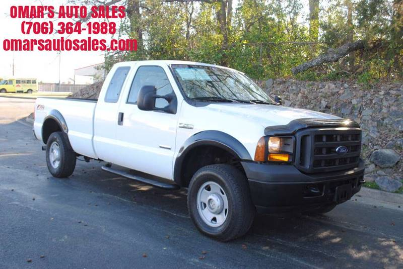 2006 FORD F-250 SUPER DUTY XL 4DR SUPERCAB 4WD LB white no accidents 4x4 clean truck pickup be