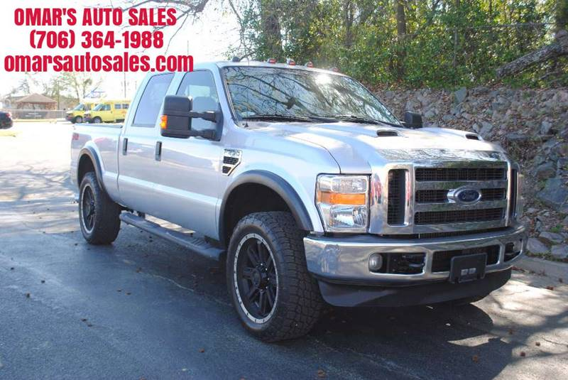 2009 FORD F-250 SUPER DUTY FX4 4X4 4DR CREW CAB 68 FT SB silver only 1 owner 4x4 great tires