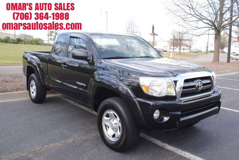 2009 TOYOTA TACOMA PRERUNNER V6 4X2 4DR ACCESS CAB black no accidents 1 owner vehicle clean t