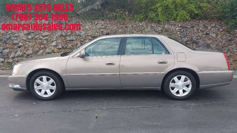 2006 CADILLAC DTS LUXURY III 4DR SEDAN tan no accidents clean car with heated and memory leath