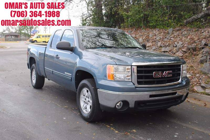 2010 GMC SIERRA 1500 SLE 4X4 4DR EXTENDED CAB 65 FT gray 4x4   no accidents blue tooth dual