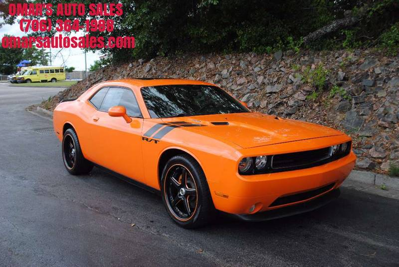 2012 DODGE CHALLENGER RT PLUS 2DR COUPE orange very clean car with heated leather seats afterma