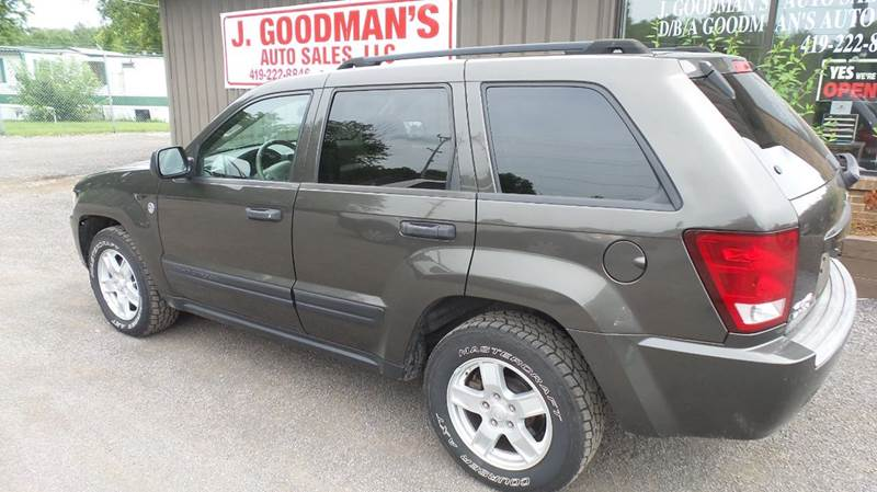 2006 Jeep Grand Cherokee Laredo 4dr Suv 4wd W Front Side Airbags In Lima Oh Goodman Auto Sales