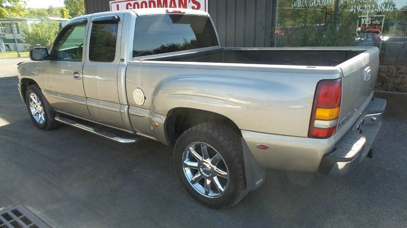 2002 gmc sierra 1500 awd 4dr extended cab denali sb in lima oh goodman auto sales 2002 gmc sierra 1500 awd 4dr extended