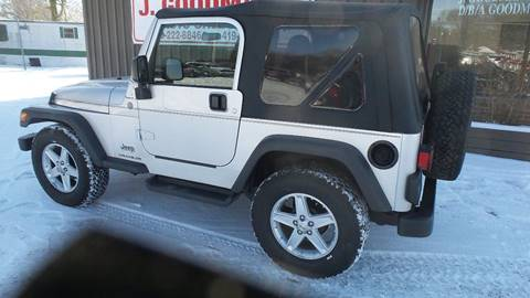 2004 Jeep Wrangler for sale in Lima, OH