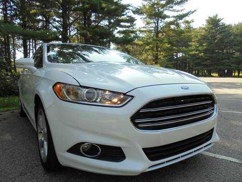2015 Ford Fusion for sale at Route 41 Budget Auto in Wadsworth IL