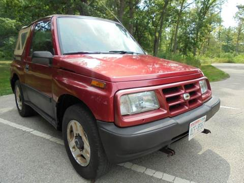 1998 Chevrolet Tracker for sale at Route 41 Budget Auto in Wadsworth IL