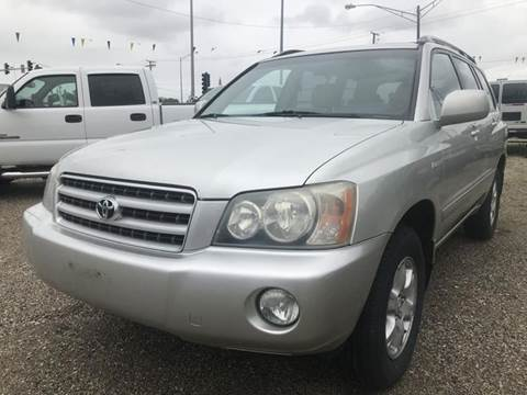 2003 Toyota Highlander for sale at Route 41 Budget Auto in Wadsworth IL