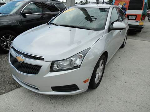 2013 Chevrolet Cruze for sale at VC Auto Sales in Miami FL