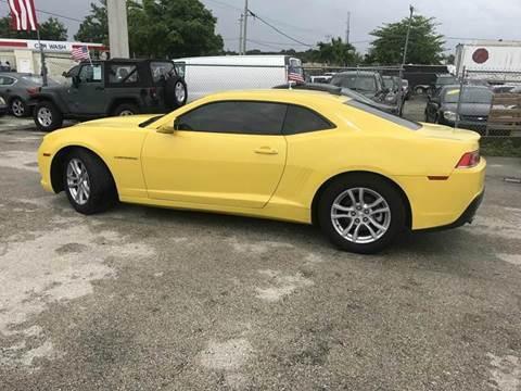 2015 Chevrolet Camaro for sale at VC Auto Sales in Miami FL