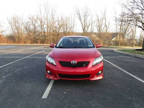 2009 Toyota Corolla for sale at Ridge Pike Auto Sales in Norristown PA
