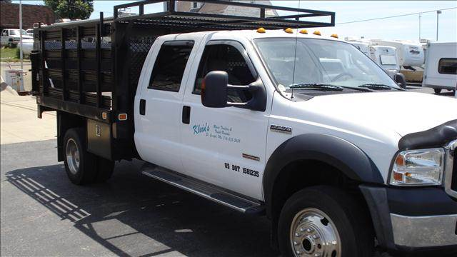 2010 Ford 550 for sale at KLEIN MOTORS & RV's in Saint Joseph MO