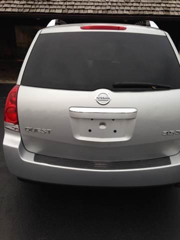 2008 Nissan Quest 3.5 S 4dr Mini-Van - St Joseph MO