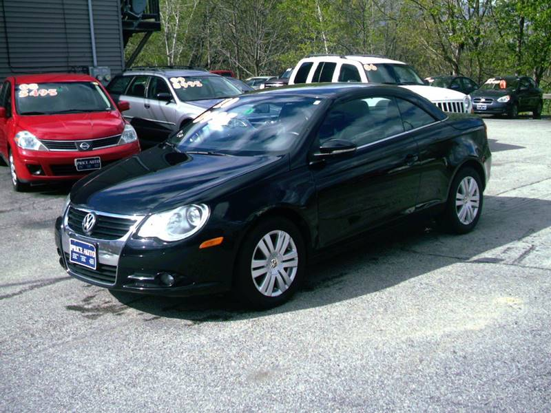 2010 Volkswagen Eos Komfort 2dr Convertible 6A - Concord NH