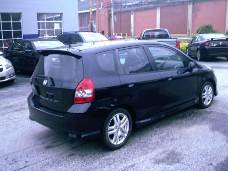 2007 Honda Fit Sport 4dr Hatchback 5A - Concord NH