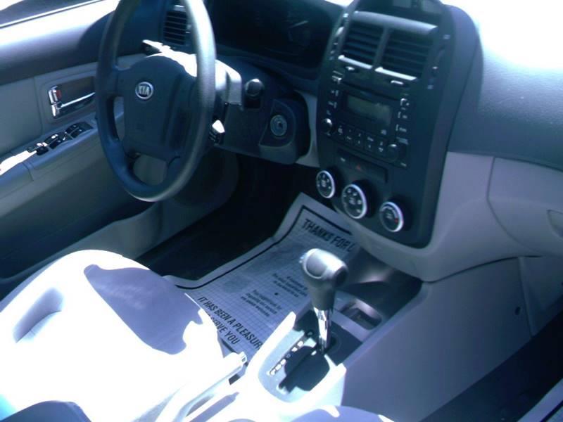 2009 Kia Spectra LX 4dr Sedan 4A - Concord NH