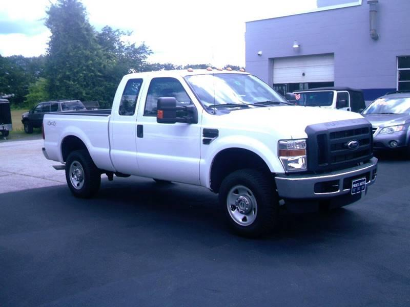 2010 Ford F-250 Super Duty 4x4 XLT 4dr SuperCab 6.8 ft. SB Pickup - Concord NH
