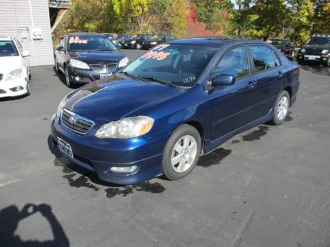 2007 Toyota Corolla for sale in Concord, NH