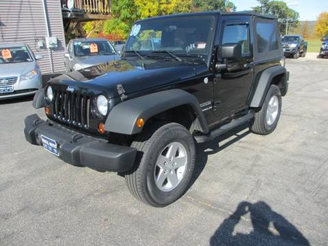 2010 Jeep Wrangler for sale in Concord, NH