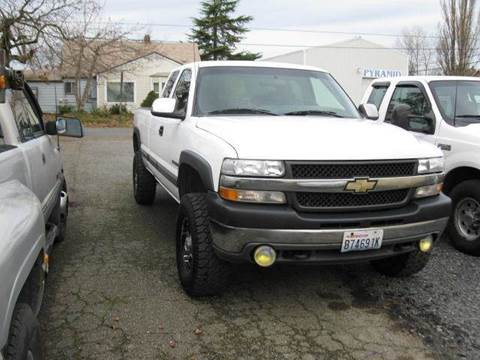 2002 Chevrolet Silverado 2500 for sale at MIDLAND MOTORS LLC in Tacoma WA