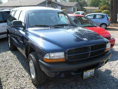 2001 Dodge Durango for sale at MIDLAND MOTORS LLC in Tacoma WA