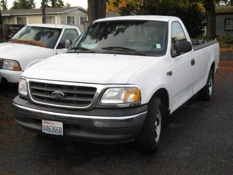 2001 Ford F-150 for sale at MIDLAND MOTORS LLC in Tacoma WA