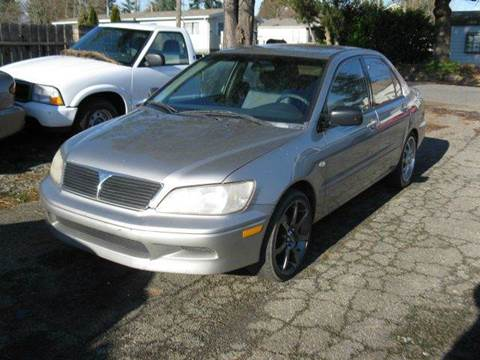 2002 Mitsubishi Lancer for sale at MIDLAND MOTORS LLC in Tacoma WA