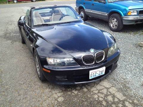 2001 BMW Z3 for sale at MIDLAND MOTORS LLC in Tacoma WA