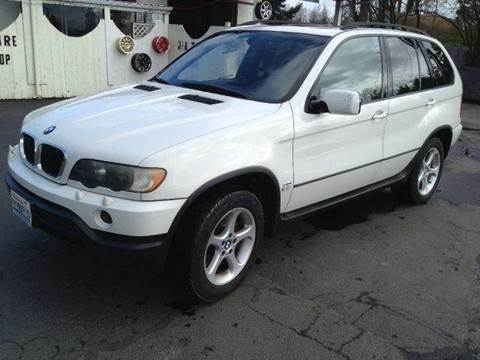 2001 BMW X5 for sale at MIDLAND MOTORS LLC in Tacoma WA