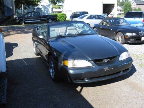 1998 Ford Mustang for sale at MIDLAND MOTORS LLC in Tacoma WA