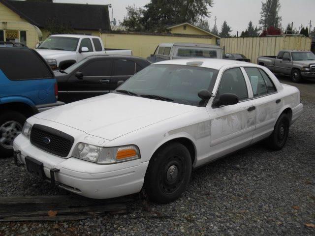 Ford Crown Victoria Police Interceptor Tacoma Wa