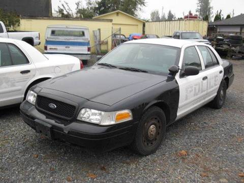 2005 Ford Crown Victoria for sale at MIDLAND MOTORS LLC in Tacoma WA