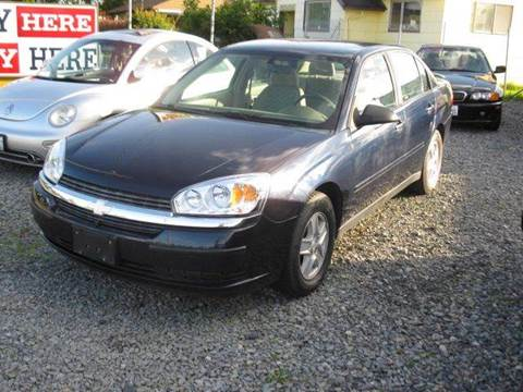 2005 Chevrolet Malibu for sale at MIDLAND MOTORS LLC in Tacoma WA