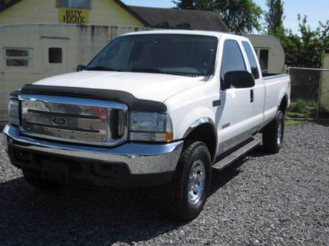 2004 Ford F-350 Super Duty for sale at MIDLAND MOTORS LLC in Tacoma WA