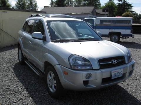 2008 Hyundai Tucson for sale at MIDLAND MOTORS LLC in Tacoma WA