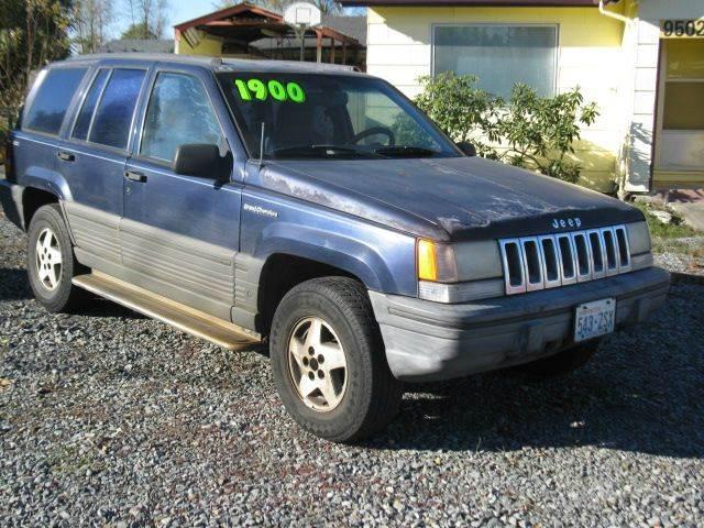 1993 Jeep Grand Cherokee for sale at MIDLAND MOTORS LLC in Tacoma WA