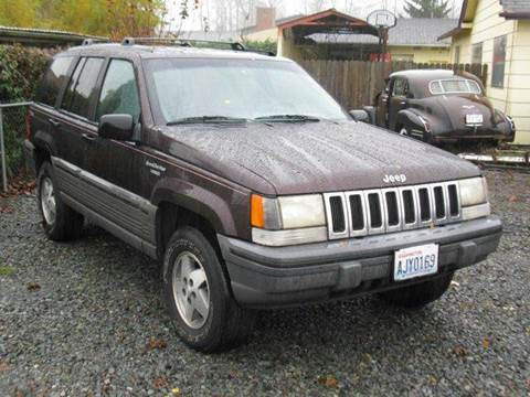 1993 Jeep Grand Cherokee for sale at MIDLAND MOTORS LLC in Tacoma WA