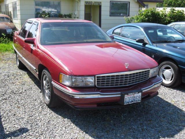 1994 Cadillac DeVille for sale at MIDLAND MOTORS LLC in Tacoma WA