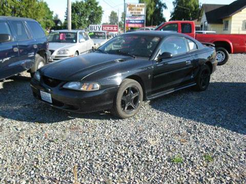 1997 Ford Mustang for sale at MIDLAND MOTORS LLC in Tacoma WA