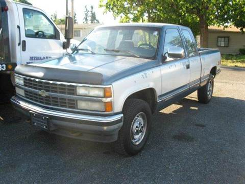 1992 Chevrolet C/K 2500 Series for sale at MIDLAND MOTORS LLC in Tacoma WA