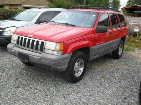 1998 Jeep Grand Cherokee for sale at MIDLAND MOTORS LLC in Tacoma WA