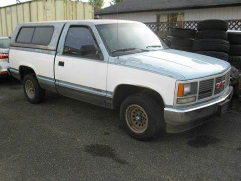 1990 GMC Sierra 1500 for sale at MIDLAND MOTORS LLC in Tacoma WA