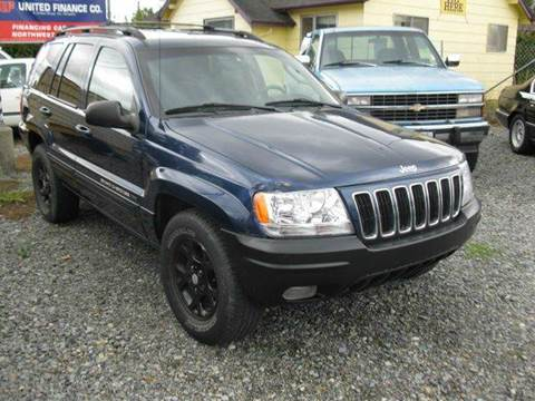2003 Jeep Grand Cherokee for sale at MIDLAND MOTORS LLC in Tacoma WA
